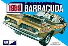 1969 plymouth barracuda 1 25 scale