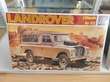 Modelkit land rover on 1 35 in box