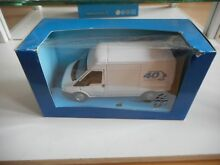 Ford transit 40 years in white on 1
