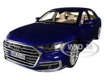 2017 audi a8 l blue metallic 1 18