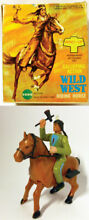 Wind up west riding horse galloping