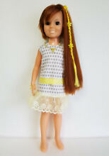 Doll clothes dress yellow hair