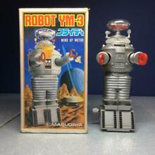 Wind up toy robot ym 3 furaidi 1985