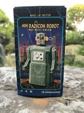 Wind up toy mini radicom robot 1997