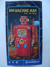 Wind up toy motor mini machine man