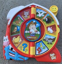 Little people see n say spin wheel