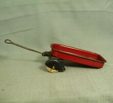 Old rare toy little red wagon metal
