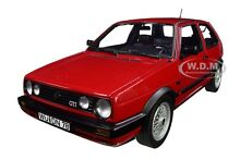 1990 volkswagen golf ii gti red 1