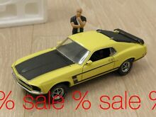 1 24 1969 ford mustang boss 302