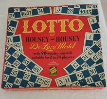 A productions lotto or housey