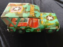 1960s army combat jeep tin friction