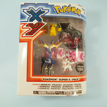 Pokemon xy super 4 pack action