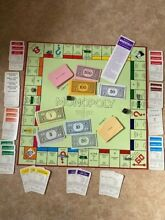 Monopoly 1970 s spares