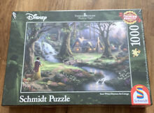 Snow white cottage by 1000 pieces