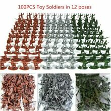 Military toy plastic soldiers
