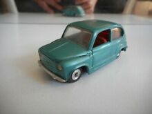 M fiat 600 in green on 1 43