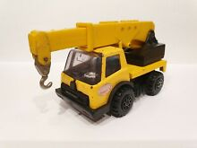 Tonka crane truck yellow colour