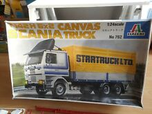 Modelkit scania t142 h 6x2 canvas