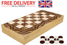 Set tavla wooden board game oyun