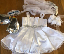Wedding dress outfit inc shoes