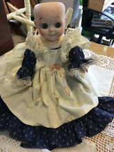 Jdk googly eyed bisque bodied doll