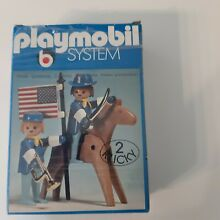 Playmobil 2er klicky box 1976