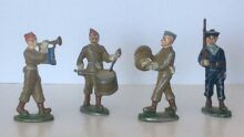 French miniature toy soldiers in