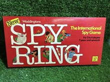 Spy ring board game by waddingtons