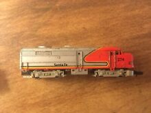 N scale santa fe all metal shell