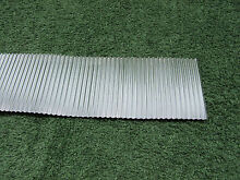Corrugated metal roofing o g scale