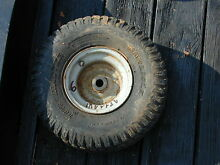6 riding lawn mower front tire