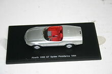 1 43 fiat 1000 gt 1964 silver red