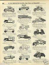 1931 paper ad steelcraft pedal car