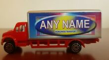Personalised name toy truck lorry