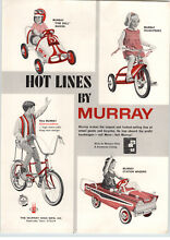 1967 paper ad murray toy fire ball