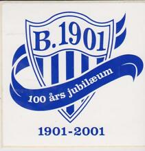 Original club logo sticker