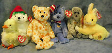 W f l ty beanie babies of the month