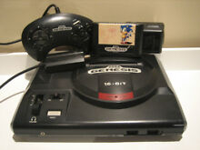 Model 1 video game system sonic the