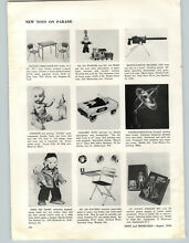1956 paper ad mattel toy o matic
