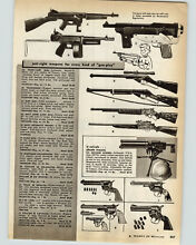 1958 paper ad toy tommy burp gun o
