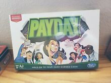 Pay day board game hasbro gaming