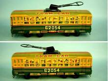 Friction tramway tin toy 1950 s 31