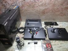 Neo geo x gold console ng 001 aes