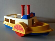Paddle boat toy