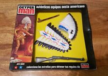 Action man boxed carded indian jefe