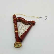 Russ berrie co wooden harp