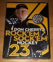 Don cherry rock em sock em hockey