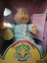 Cabbage patch preemie nib 1983 84