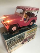 Battery operated tin toy surrey