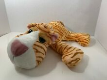 Co zoey plush orange white tiger